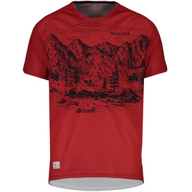 Maloja SerlasM. Bike Jersey Shortsleeve Men red